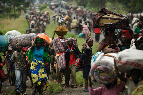 Refugees from the Congo DRC