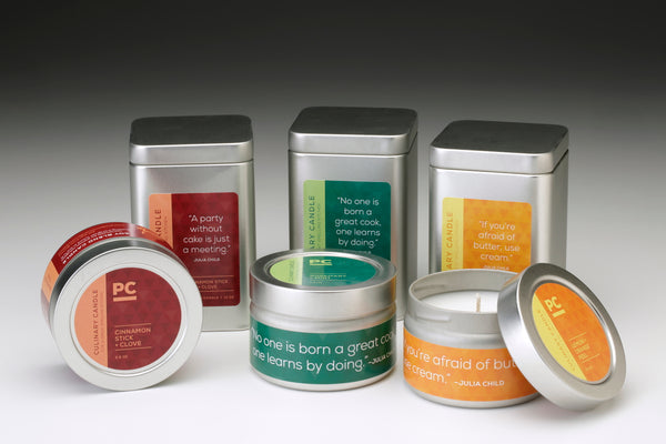 Culinary Candles - 5 Unique Father's Day Gifts for the Dad Who Likes to Cook, Grill, or Just Unwind