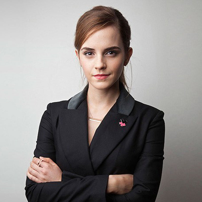 Actress Emma Watson is an inspiration to Prosperity Candle's women refugees pouring fair trade handmade soy candles