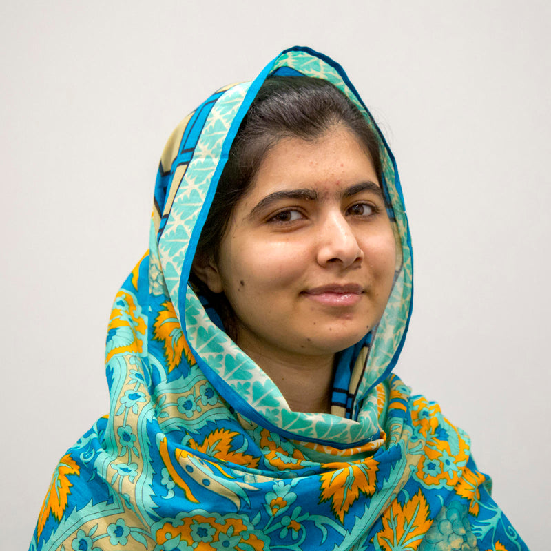 Malala Yousafzai is an inspiration to Prosperity Candle's women refugees pouring fair trade handmade soy candles