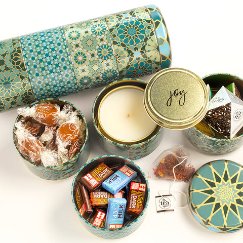 Unique ethically-made gift sets and candles that give back to women artisans.