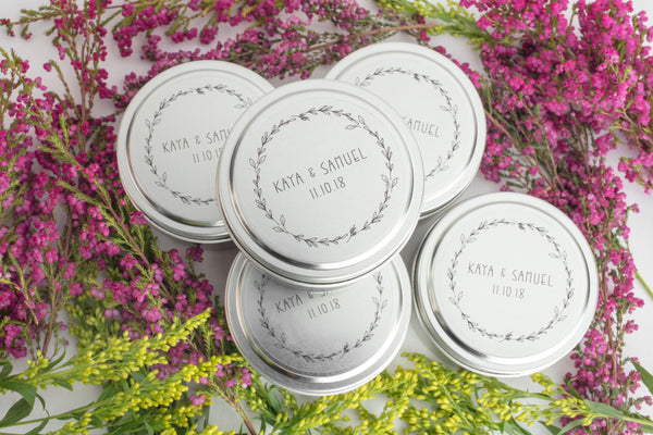 Meaningful wedding favors. Plan a wedding that gives back - Prosperity Candle Blog handpoured candles by women artisans in the U.S.