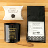 Thank You Gift Set - Ethically made gift set with soy blend candle handpoured by women artisans in the U.S.