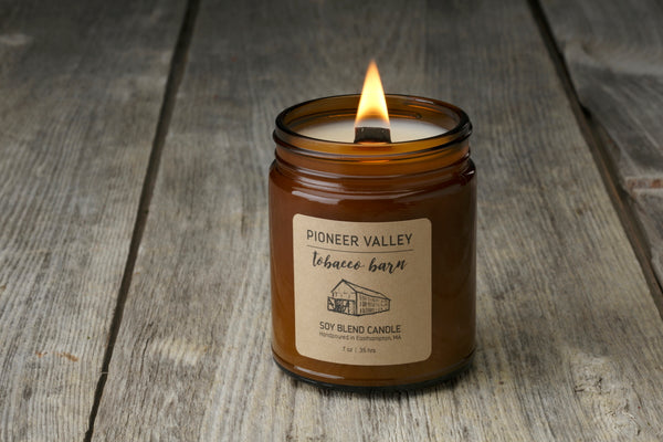 Pioneer Valley Tobacco Barn Candle - 5 Unique Father's Day Gifts for the Dad Who Likes to Cook, Grill, or Just Unwind