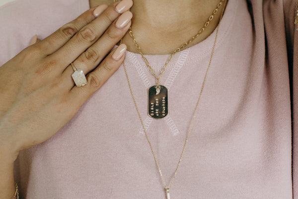 UNCVRD jewelry that gives back - 8 Inspiring Brands that Fight Human Trafficking and Empower Survivors