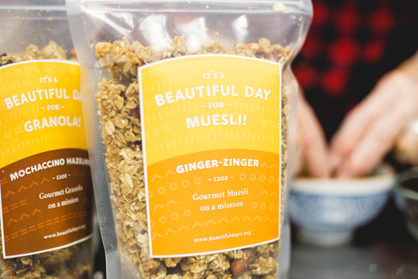 Beautiful Day Granola - 10 Incredible Refugee-Made Products that Give Back to Artisans and the Community