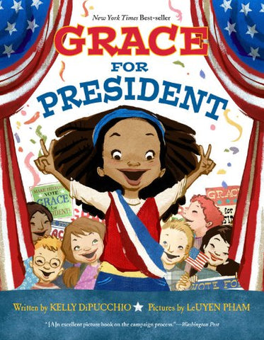 Grace for President - 8 Empowering Books with Strong Female Characters