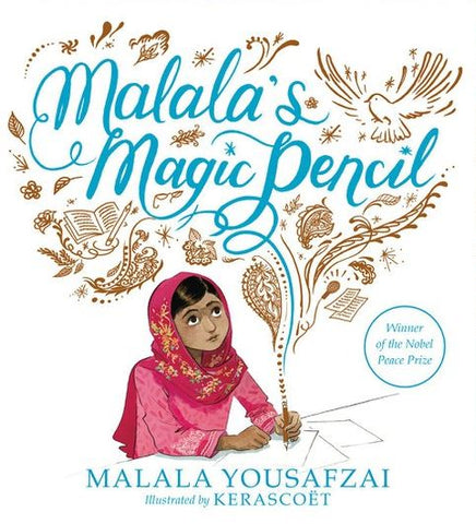 Malala's Magic Pencil - 8 Empowering Books with Strong Female Characters on Prosperity Candle Blog