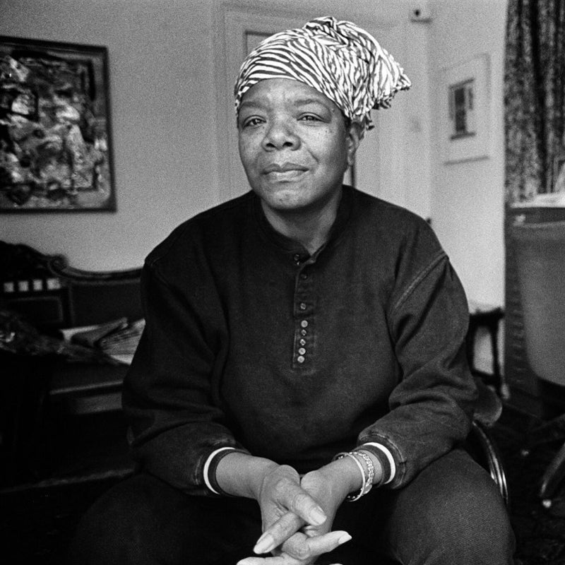 Civil rights leader Maya Angelou is an inspiration to Prosperity Candle's women refugees pouring fair trade handmade soy candles