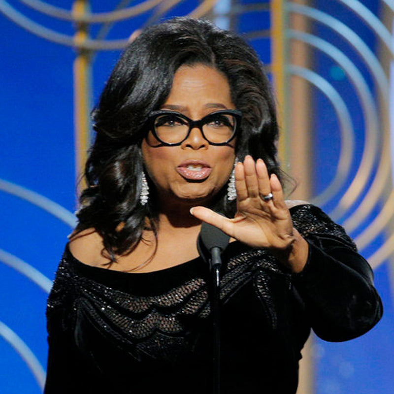 Oprah Winfrey is an inspiration to Prosperity Candle's women refugees pouring fair trade handmade soy candles