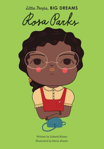 Little People, Big Dreams: Rosa Parks - 8 Empowering Books with Strong Female Characters on Prosperity Candle Blog