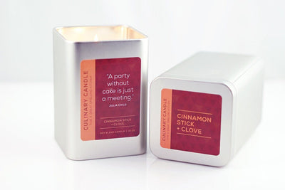 Culinary Candles - Prosperity Candle handmade by women artisans fair trade soy blend candles