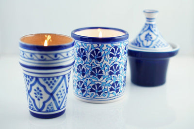 Tagine Candle - Prosperity Candle handmade by women artisans fair trade soy blend candles