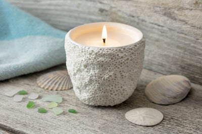Antibes Coral Candle