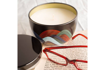 Over the Rainbow - Prosperity Candle handmade by women artisans fair trade soy blend candles