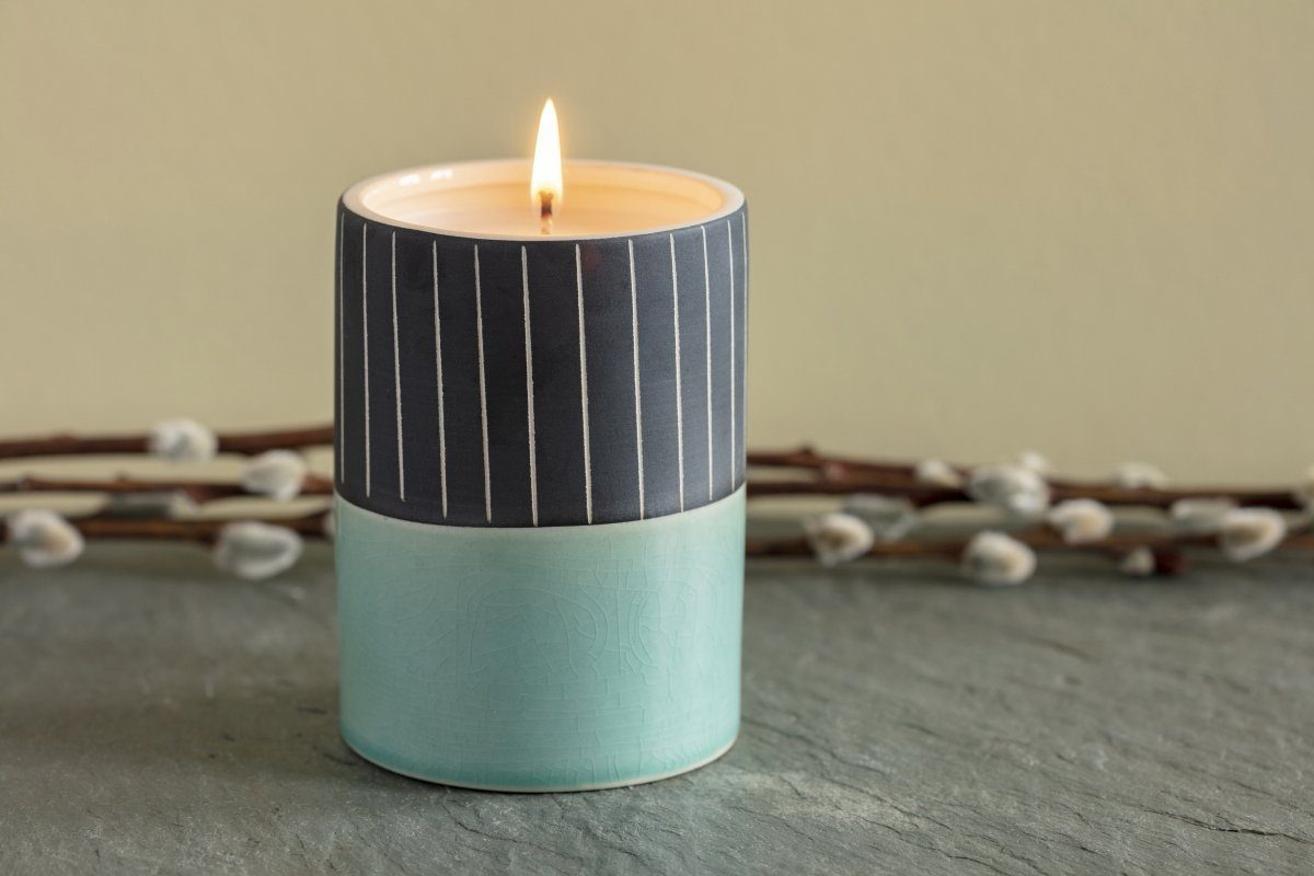 The Astoria is a soy coconut blend candle poured by women artisans in the United States. A great gift that gives back.