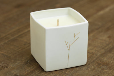 The Branches Candle - Prosperity Candle handmade by women artisans fair trade soy blend candles