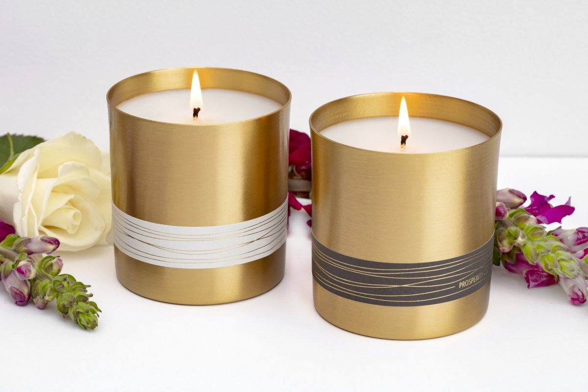 New Year Candles and Gifts