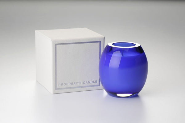 Cobalt Brilliance Candle