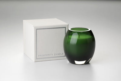 Color Brilliance Candle - Prosperity Candle handmade by women artisans fair trade soy blend candles
