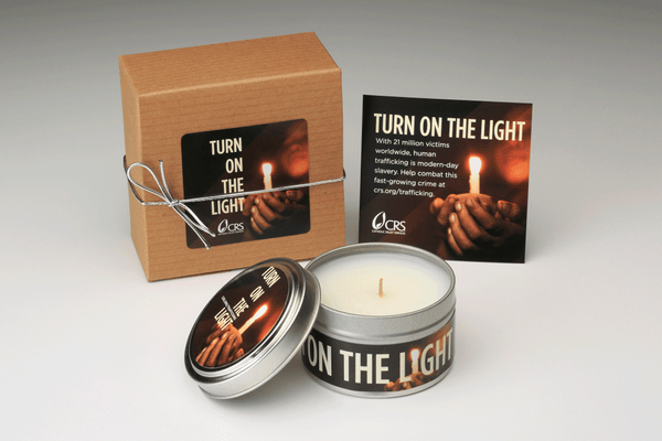 CRS Human Trafficking Candle