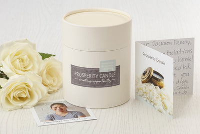 Prosperity Candle Gift Box - Ethically made gifts that give back and empower women in the U.S.