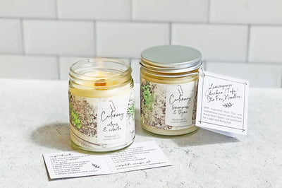 Each Culinary spice-scented candle arrives with a special recipe matching its scent!