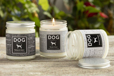 Dog Candles - Ethical fair trade candles and gifts for a cause. Empowering gifts that support women.