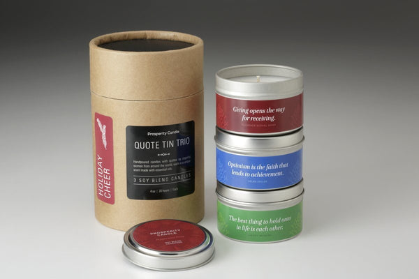 Quote Tin Trio Gift Set