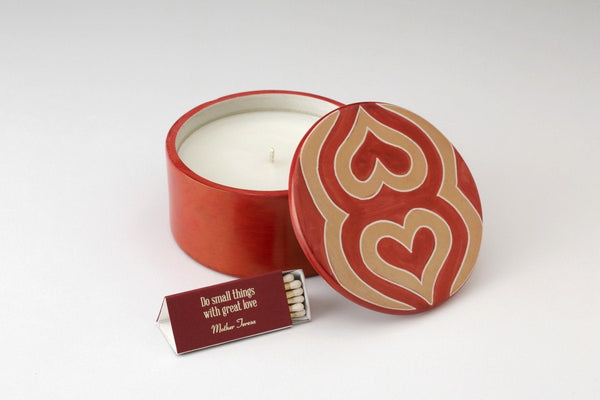 Radiant Heart Candle
