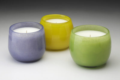Toulon Bowl - Prosperity Candle handmade by women artisans fair trade soy blend candles