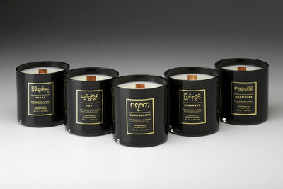 Burmese Candles - Prosperity Candle handmade by women artisans fair trade soy blend candles