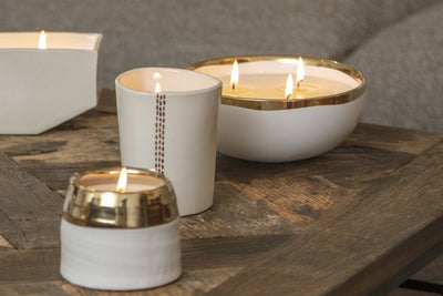 Lulea 3-Wick Bowl -  soy blend candles handmade by women artisans in the U.S. at Prosperity Candle