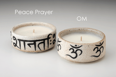 MQuan Votive - Prosperity Candle handmade by women artisans fair trade soy blend candles