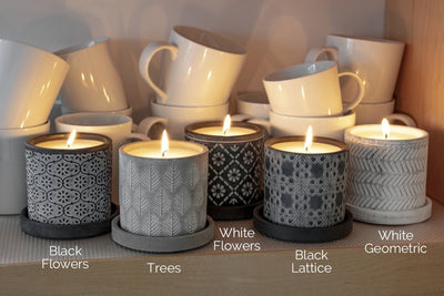 This Marbella collection of soy blend handpoured candles make beautiful gifts that support women. Made in the United States.