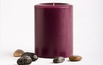 Prosperity Pillars - Prosperity Candle handmade by women artisans fair trade soy blend candles