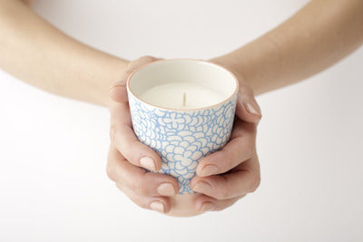 Valencia Candle - Prosperity Candle handmade by women artisans fair trade soy blend candles