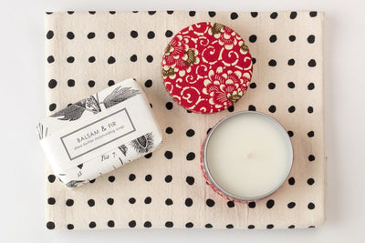 Simple Delight - Prosperity Candle handmade by women artisans fair trade soy blend candles