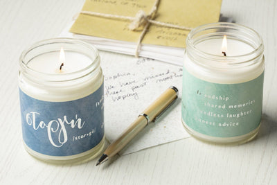 Greek Love Candles