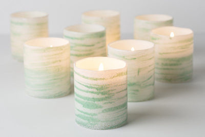 Olympia - Prosperity Candle handmade by women artisans fair trade soy blend candles