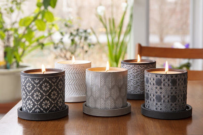 This Marbella collection of soy blend handpoured candles make beautiful gifts that support women artisans. Made in the United States.