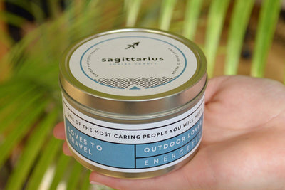 Gourmet Zodiac Gift Sets - Prosperity Candle handmade by women artisans fair trade soy blend candles
