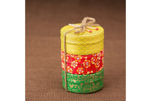 Spring Washi Tea Tin