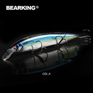 BEARKING 2019 Hot fishing lures, assorted colors, minnow crank 160mm 30g,Tungsten weight system wobbler model crank bait