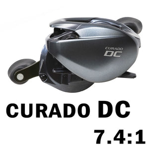 SHIMANO CURADO DC fishing reel Baitcaster 6.2:1/7.4:1/8.5:1 6+1BB 5 kg Power I-DC4 System strength body Smooth light baitcasting