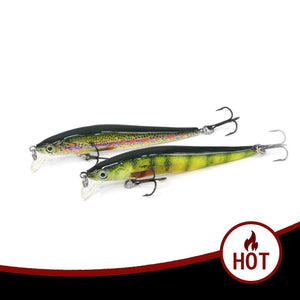 Minnow Fishing Lure 6cm 9cm Hard Bait Fish Wobblers