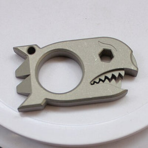 Shark Titanium EDC Tool Tactical Defense Crowbar