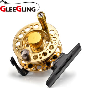 GLEEGLING Hot 1:1 Pesca De La Carpa for Winter Ice Fly Fishing Rods Spinning Stainless Steel Wheel Fishing Reel Handle Knob