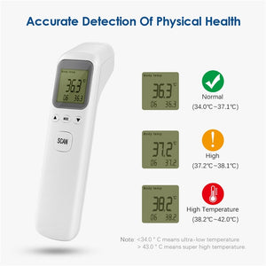 Baby Thermometer Infrared Digital LCD Body Measurement Forehead Ear Non-Contact Adult Body Fever IR Children Thermometer