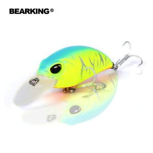 Bearking professional hot fishing tackle Retail 2017 qulity fishing lure  65mm,14g crank dive 2m for pike and bass